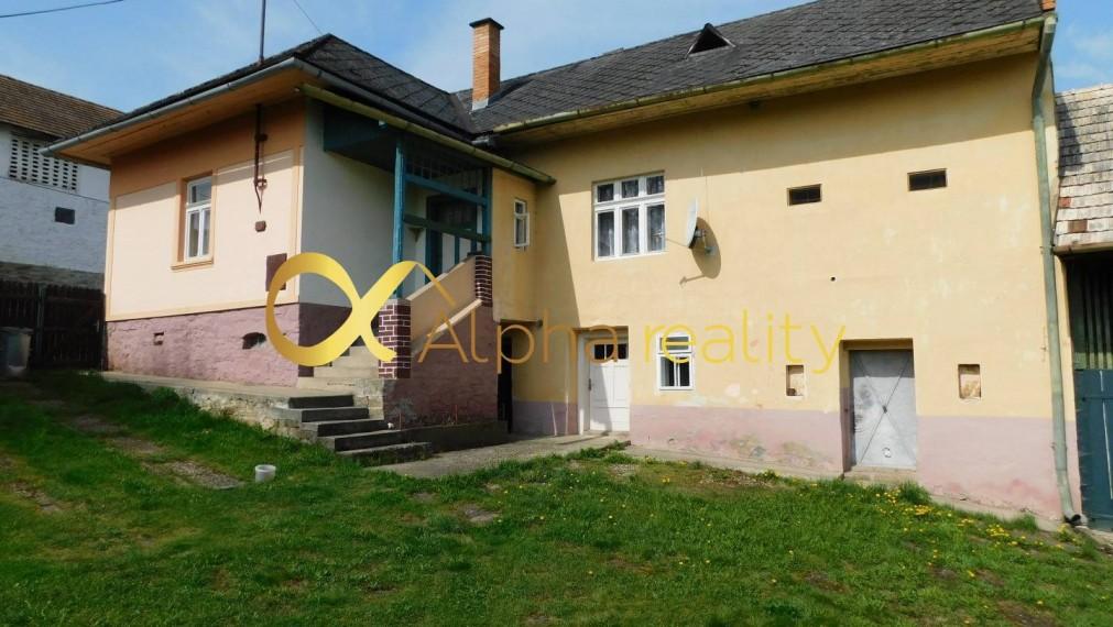 EXKLUZÍVNE: Rodinný dom, obec Iliašovce, okres Spišská Nová Ves